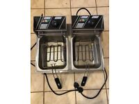Twin Individual Fat Fryer To Go!