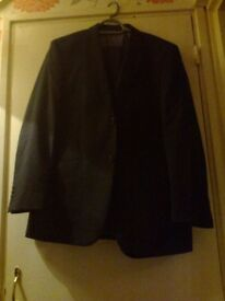 """brook taverner mans suit ( jacket size 40"""" chest, trouser size 36"""" waste new with tags )"""