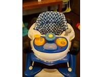 Race car rocker/walker