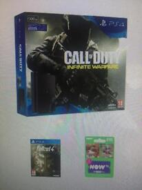 Brand new PlayStation 4 500gb with 2 games