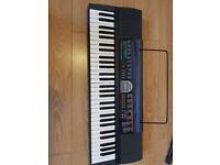 Casio CTK-485 electric keyboard. 61 keys