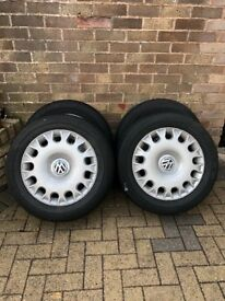 Volkswagen Phaeton 17 Inch Wheels with Goodyear Tyres