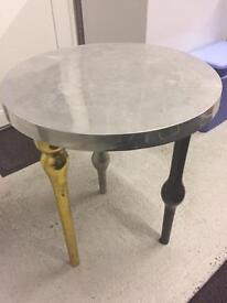 Vintage metal table - side table
