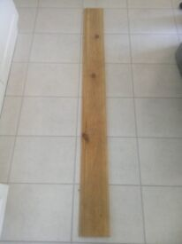 NEW LENGTH OF PINE SKIRTING L 1710mm W 169mm T 15mm LEICESTER