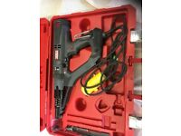 Senco ds7525 autofeed 600w screw gun. Also have full boxes of screws.