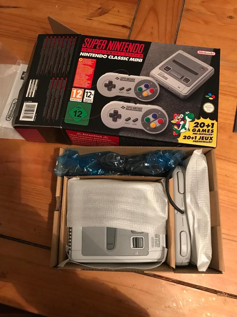 SNES mini £180 ono 👀check pictures👀