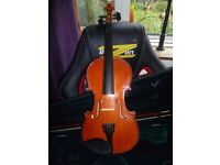 Primavera Violin 4/4 in case with Bow
