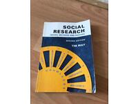 Social Research: Issues , Methods & Process. Tim May 2d Ed