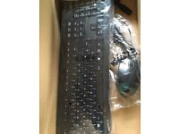 New keyboard and mouse