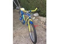 Beach cruiser bike. corona beer limited edition