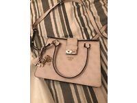 Almost new designer Guess Women's Arianna Top-Handle Bag grey Grigio