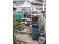 Aluminium glass greenhouse
