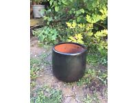 Used small black pot
