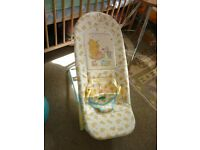 Baby Bouncer Chair / Winnie The Pooh / Mother Care