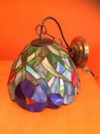 Tiffany style wall lamp