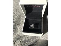 Crystal leaf Pandora charm (Brand new with box)