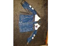 Boys leather jacket 2-3