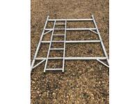 Youngman Boss Lewis Double Span Width tower scaffold scaffolding aluminium ladder 4 rung sections