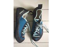 Climbing shoes size 7 UK -41 EU for beginners