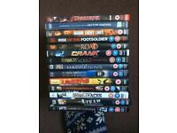 14 DVDs all for £5