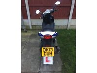 MOPED SPEEDFIGHT 3 50cc inc 12 MONTHS MOT. GOOD CONDITION.