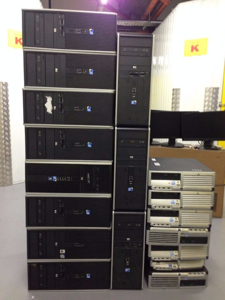 HP dc7900 Core 2 Duo 2.66Ghz 2Gb 250Gb DVD+/-RW Tower clearance