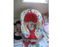 Red kite baby rocker