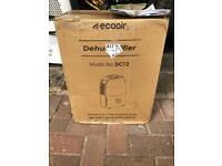 Ecoair dehumidifier