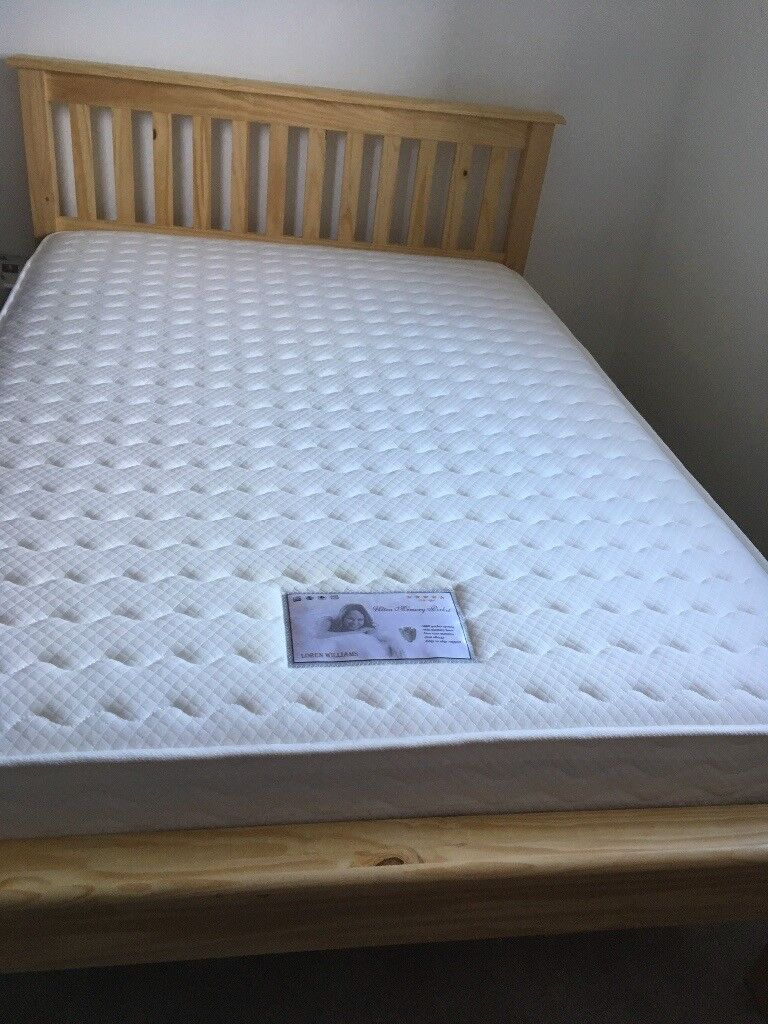 BRAND NEW DOUBLE BED FRAME FOR IMMEDIATE SALE-PICKUP ONLY.