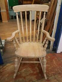 Old Pine Rocking Chair