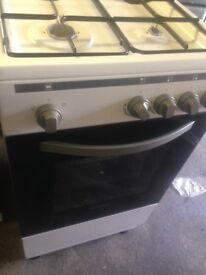 White gas cooker 50cm.,,,,,Cheap Free delivery