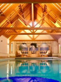 Private Luxury swimming spa pool hire just for you and your friends