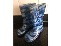 Size 1 Wellington boots from Next only worn few times hence very good condition