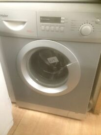 Silver Haier washing machine £119