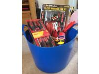 Bucket of tools. Great presents for tool enthusiasts/father's day