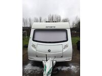 Sprite Quattro touring caravan 2007,twin axle fixed bunks , very good condition inside and out.