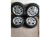 Vw Touran/Golf/Caddy Cleveland 16inch alloy wheels 5KO601025E