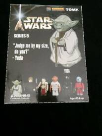KUBRICK STAR WARS SERIES 5 BRAND NEW WRAPPED IN CELLOPHANE