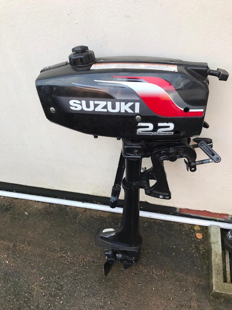 SUZUKI 2.2HP OUTBOARD MOTOR