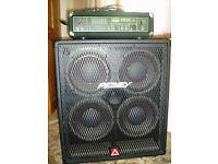 Bass amp and cab