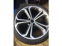 Astra Gtc ltd edition 20 inch alloy & tyre x1