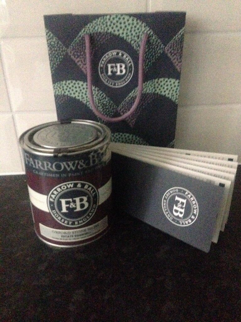Farrow and Ball paint Estate Eggshell Oxford Stone No 264