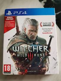 **SOLD** THE WITCHER WILD HUNT PS4