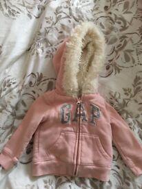 Girls Gap Winter Jacket 12/18 months