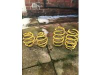 Apex lowering springs for Vauxhall Corsa C