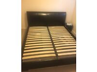 Super king size bed+ mattress excellent condition delivery available