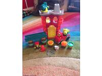 Playdoh town bundle Police pizza fire rescue hairdresser