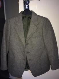 Grey school blazer