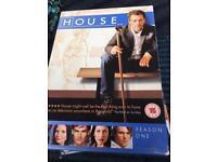 House dvd box sets 1-5