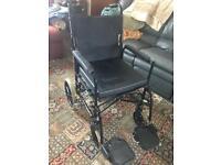 Motor powered electric wheel chair